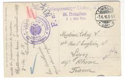 20219 -  Camp De LIMBURG - Guerra De 1914-18