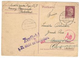 20234 - D'un STO à EISENERZ - Lettres & Documents
