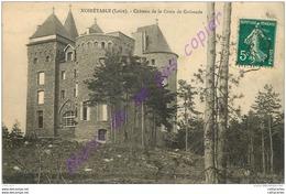 42.  NOIRETABLE .  Chateau De La Croix De Guirande . - Noiretable