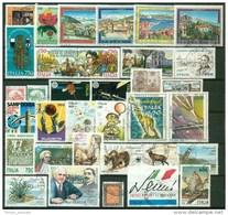 ITALIA REPUBBLICA - ANNATE COMPLETE 1991 1992 1993 1994 1995    USATE  PERFETTE LUX - 6. 1946-.. Repubblica