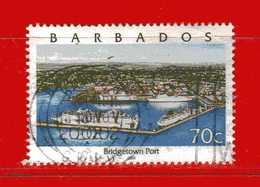 (Us3) ) BABADOS ° 2000 - PORT De BRIDGETOWN. Yvert. 1023. Usato. - Barbados (1966-...)