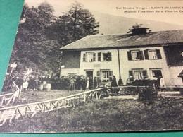 SAINT MAURICE SUR MOSELLE. Vosges  Maison Forestière - France