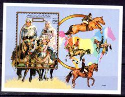 25.4.1992; Pferde Und Reiter, Blockausgabe Nr. 126; Neu **, Los 51495 - Libya