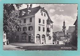 Small Map Postcard Of Gasthof Post,Zirl, Tyrol, Austria,V110. - Zirl