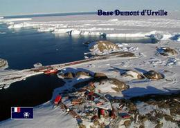 Antarctica Petrel Island Dumont D'urville Station TAAF New Postcard - TAAF : Franz. Süd- Und Antarktisgebiete