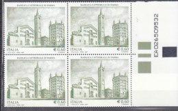 PGL DC0729 - ITALIA REPUBBLICA 2007 SASSONE N°2941 ** QUARTINA - 1946-.. République