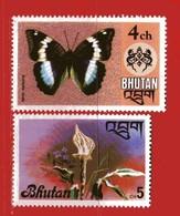 (Mn1) ) BHUTAN ** 1975-1976 -  . Yvert. 450 - 512. Usato. - Bhutan
