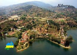 Rwanda Kibuye Lake Kivu Aerial View New Postcard Ruanda AK - Rwanda