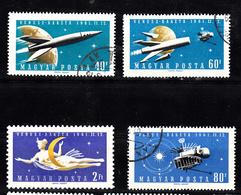Hongarije 1961 Mi Nr  1758 - 1761: Space, Venussonde - Hongarije