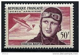 """FR Aerien YT 34 (PA) """" Maryse Bastié """" 1955 Neuf** - 1927-1959 Mint/hinged"""