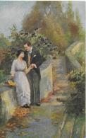 AK 0287  Burger , F. - Auf Stillen Wegen / Künstlerkarte Um 1919 - Malerei & Gemälde