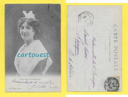 CPA ARLES 13 COSTUME ARLESIENNE Photographe ROZIER 1904 - Arles