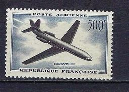 "FR Aerien YT 36 (PA)  "" Caravelle "" 1957-59 Neuf** - 1927-1959 Mint/hinged"