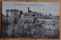 36 : Sainte-Sévère-sur-Indre - Le Château Et Le Donjon - (n°15640) - Andere Gemeenten