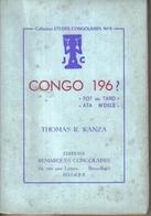 Thomas R. Kanza : Congo 196? – « Tôt Ou Tard » - « Ata N'dele » – [ 1962 ] - Historia