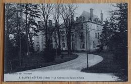 36 : Ste-Sévère-sur-Indre - Le Château De Sainte-Sévère - (n°15643) - Andere Gemeenten