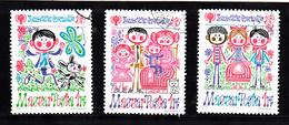 Hongarije 1979 Mi Nr  3335 - 3337, Jaar Van Ht Kind, Vlinder, Butterfly - Hongarije