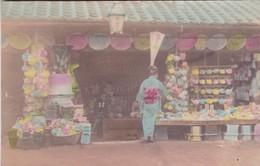 JAPON / TRES BELLE CARTE COLORISEE 1900 / BOUTIQUE - Giappone