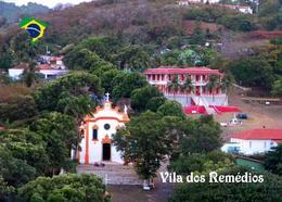 Fernando De Noronha Island Vila Dos Remedios Church Brazil UNESCO New Postcard - Sonstige