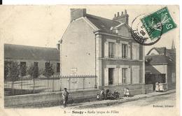 Loiret SOUGY Ecole LaÏque De Filles Animation - Other Municipalities