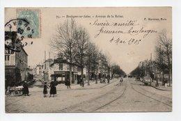 - CPA BOULOGNE-SUR-SEINE (92) - Avenue De La Reine 1905 (avec Personnages) - Edition Marmuse N° 75 - - Boulogne Billancourt