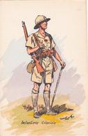 CPA  - MILITARIA - INTANTERIE COLONIALE Uniforme Par Illstrateur Maurice LERXOUX 1910 - Très Bel état - Uniformes