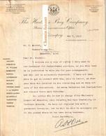 Document Du 07/05/1912 THE HUDSON'S BAY COMPANY - Winnipeg - Canada - Canada