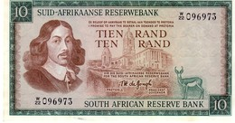 South Africa  P.114c 10 Rand 1976 Unc - Zuid-Afrika