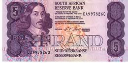 South Africa P.119e 5 Rand 1978.94 Unc - Sudafrica