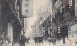 SHANGHAI / FROOWCHOW ROAD /  TRES BELLE CARTE COLORISEE 1900 / - China