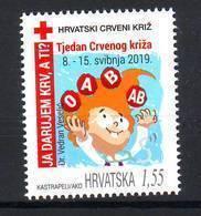 Croatia 2019 RED CROSS MNH - Kroatië