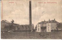 Souvenir Aan Geertruidenberg Suikerfabriek Sucrière 1902 Cacheté  STATENDAM De Naam Nom 6/243 D2 - Industrie