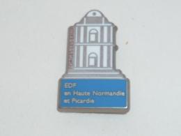 Pin's EDF FORGES LES EAUX, HAUTE NORMANDIE-PICARDIE - EDF GDF
