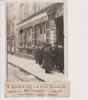 Societe L'oyonnithe M Guichard Chef Sûreté Garçon Attaque  18*13CM Maurice-Louis BRANGER PARÍS (1874-1950) - Non Classés