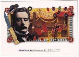 Giacomo Puccini (1858 - 1924) By Archer/Quinnell - BBC Music Magazine, Woodlands, London - Muziek En Musicus