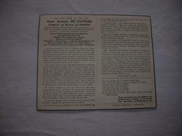 Arseen De Cuypere (Lichtervelde 1894-Oostende 1953);Demeyere    -   Oorlogsinvalied 14-18         -  Gemeenteraadslid - Imágenes Religiosas