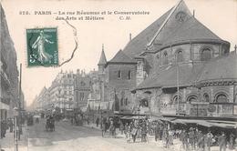 ¤¤   -   PARIS  -  Rue Réaumur Et Le Conservatoire Des Arts Et Métiers    -   ¤¤ - Arrondissement: 03
