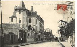 Hautes Pyrénées TARBES Boulevard De La Gare Et Hôtel - Tarbes