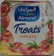 Egypt - Couvercle De Yoghurt Almarai Treats Foil) (Egypte) (Egitto) (Ägypten) (Egipto) (Egypten) Africa - Coperchietti Di Panna Per Caffè