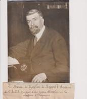 BARON ZUYLEN DE NYEVELT CHEVALIER DE LA LEGION D'HONNEUR 18*13CM Maurice-Louis BRANGER PARÍS (1874-1950) - Objetos