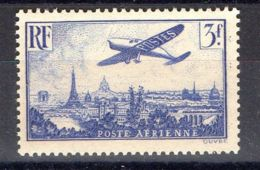 FRANCE (  AERIEN ) : Y&T N°  12  TIMBRE  NEUF  SANS  TRACE  DE  CHARNIERE . - Airmail