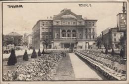 Timisoara - Teatrul National (Piata Victoriei), 1928. - Roemenië