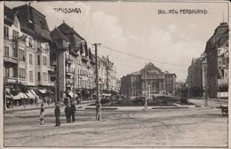 Timisoara - Bulevardul Regele Ferdinand (Piata Victoriei), Teatrul National, 1930. - Roemenië