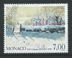 MONACO 1990 . N° 1747 . Oblitéré . - Monaco