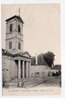 - CPA PONTAILLER-SUR-SAONE (21) - L'Eglise (avec Personnages) - Edition L. V. 209 - - France
