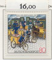 PIA - GERMANIA : 1987 : Giornata Del Francobollo - Arrivo Di Un Convoglio Postale Nel 1897  - (Yv 1170) - Giornata Del Francobollo