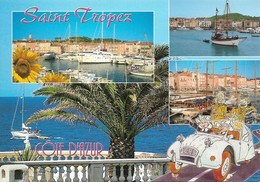 83 Saint Tropez Divers Aspects (2 Scans) - Saint-Tropez