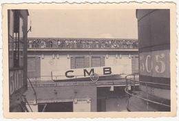 Photographie Amateur / Personnes, Bateau, C.M.B. (Compagnie Maritime Belge) / Provenance Belgique / Années 40 - 50 - Boats