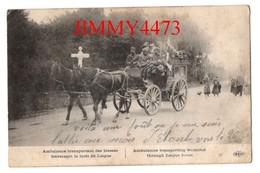 CPA - Ambulance Transportant Des Blessés Traversant La Forêt De Laigue 60 Oise Bien Animée En 1915 - E. L. D. - Guerre 1914-18