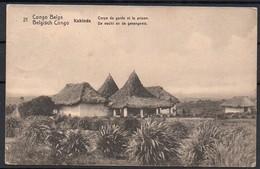 Congo - Entier Postal Stibbe 42- Vue 21 Kabinda Corps De Garde Et Prison - Buta Asmara Italie 1918 - C8 - Ganzsachen